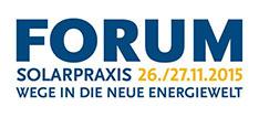 ENS beim 16.Forum Solarpraxis
